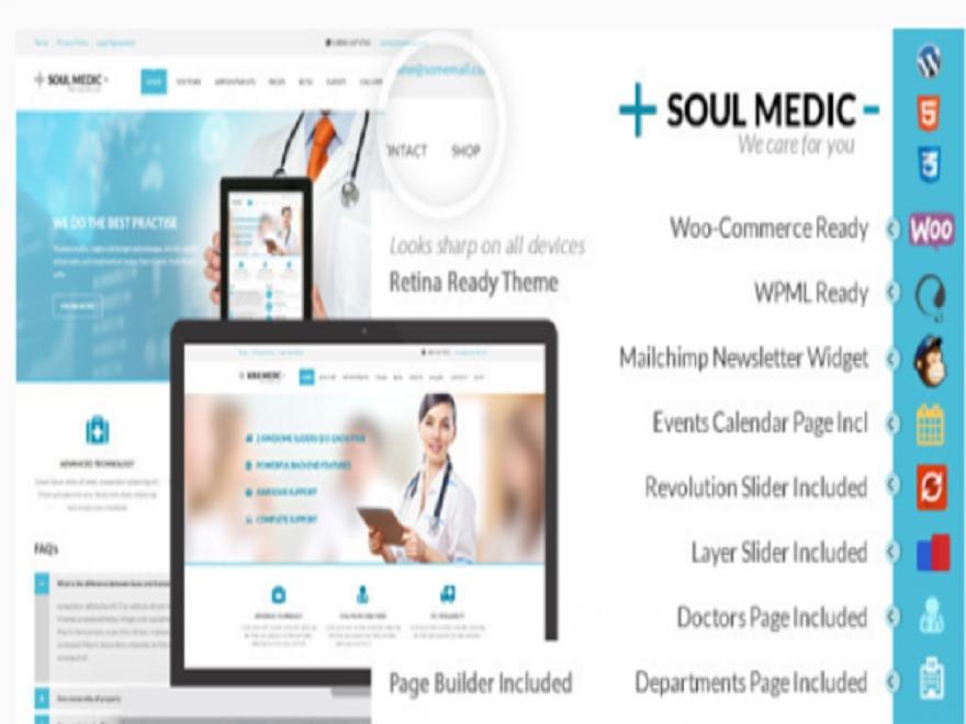 soulmedic Child top WordPress theme