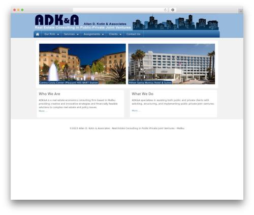 Barely Corporate best real estate website - adkotin.com