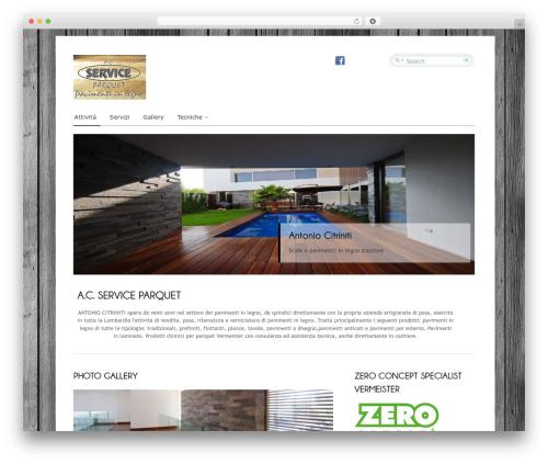 Cloriato Lite WordPress template free download - acsparquet.com