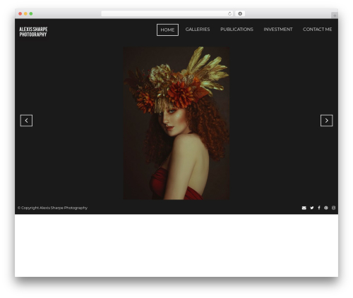 Focal WordPress theme image - alexissharpephotography.com