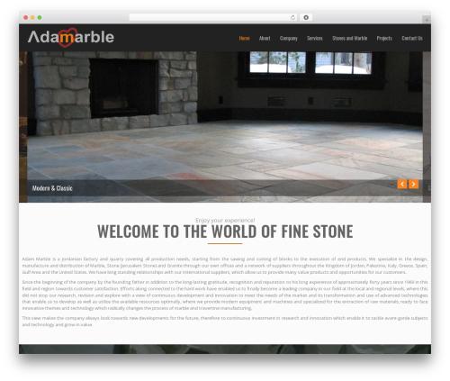NineZeroSeven theme WordPress - adammarble.com
