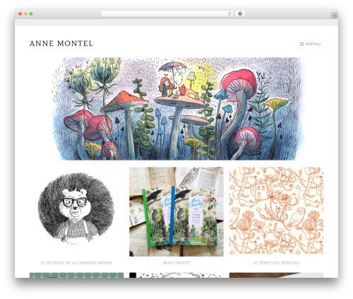 Sketch free WP theme - ahurie.net