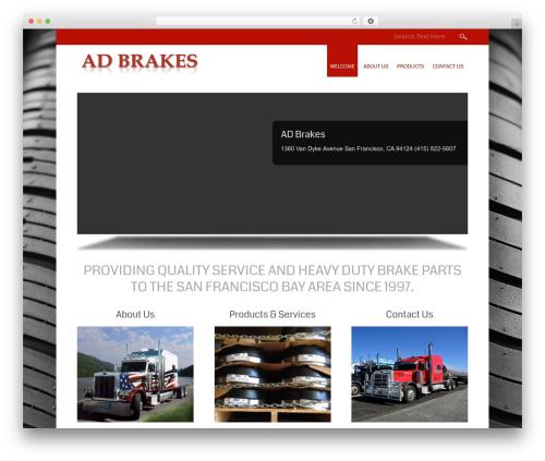 Small Business WordPress free download - adbrakes.com