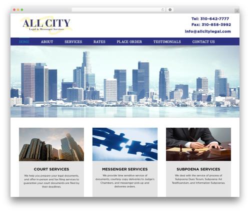 Theme WordPress Avada - allcitylegal.com