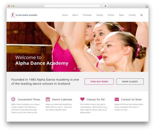 Free WordPress GDPR Cookie Consent plugin - alphadance.co.uk