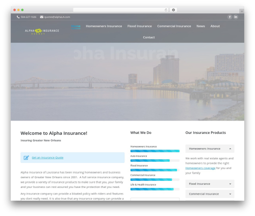 The7 best WordPress theme - alphala.com