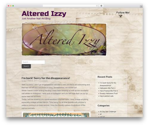 Best WordPress theme Gridiculous - alteredizzy.com