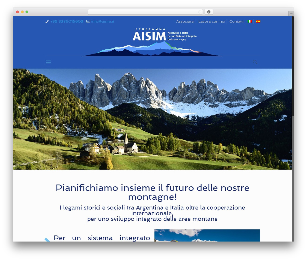 Betheme best WordPress template - aisim.it