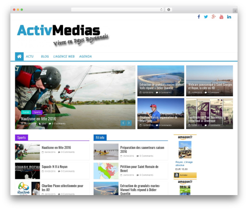 ColorMag Pro WordPress page template - activmedias.com