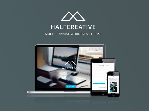 Halfcreative Child Theme theme WordPress