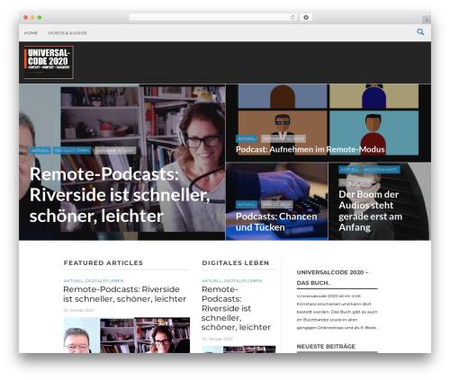 Massive News WP theme - abzv-universalcode.de