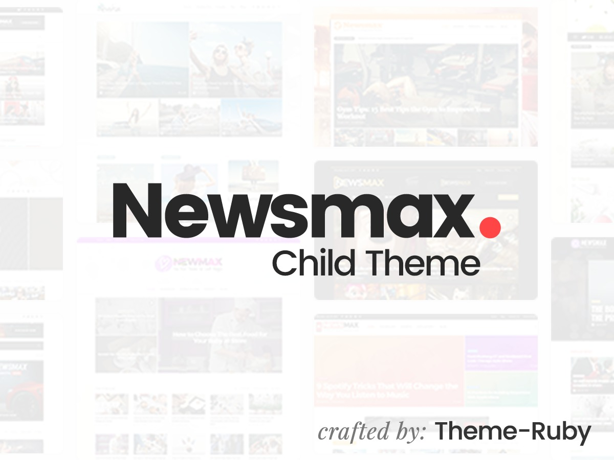 Newsmax child WordPress news template
