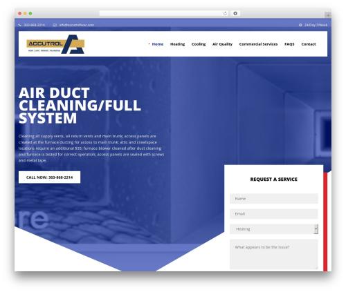 NOO Pearle business WordPress theme - accutrolhvac.com