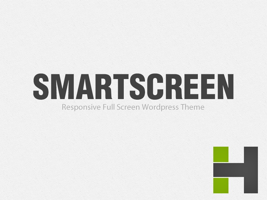 SmartScreen (shared on wplocker.com) WordPress theme design