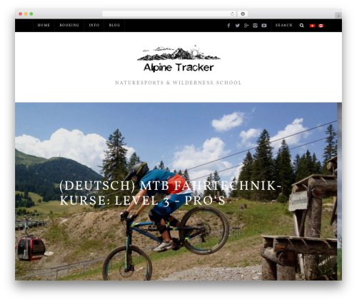 Template WordPress SimpleMag - alpinetracker.com