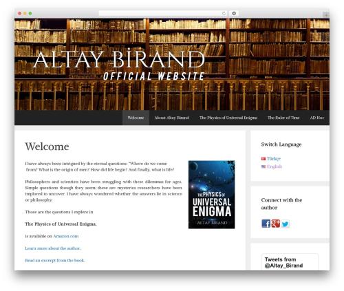 WordPress theme GeneratePress - altaybirand.com