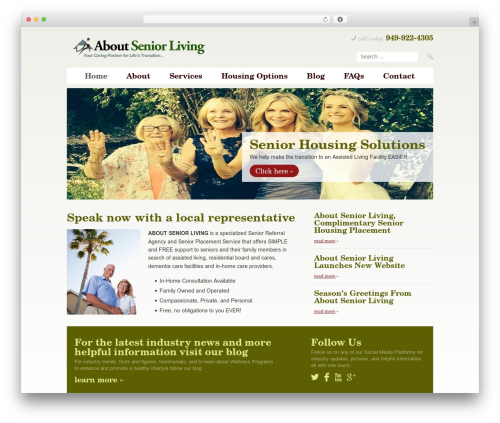 WP template 800 Dollar / ISL Template - aboutseniorliving.com