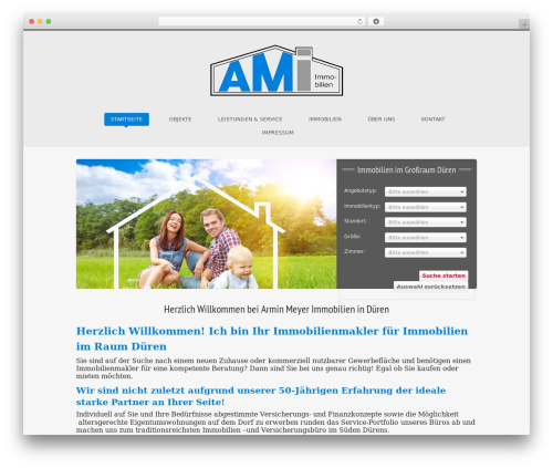 Free WordPress Advanced iFrame plugin - amimmobilien.de