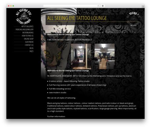 BeautySpot WordPress ecommerce theme - all-seeing-eye.co.uk