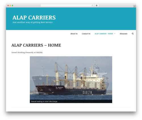 GeneratePress template WordPress free - alapcarriers.net