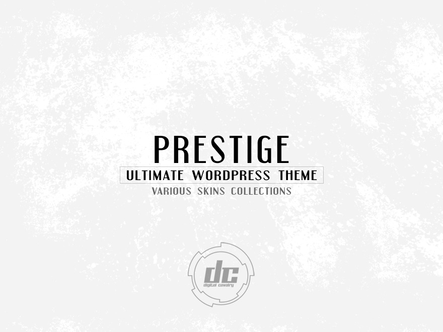 Prestige Ultimate Wordpress Theme WordPress template for business