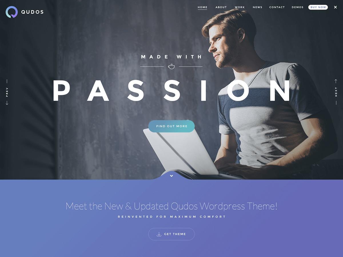 Qudos theme WordPress