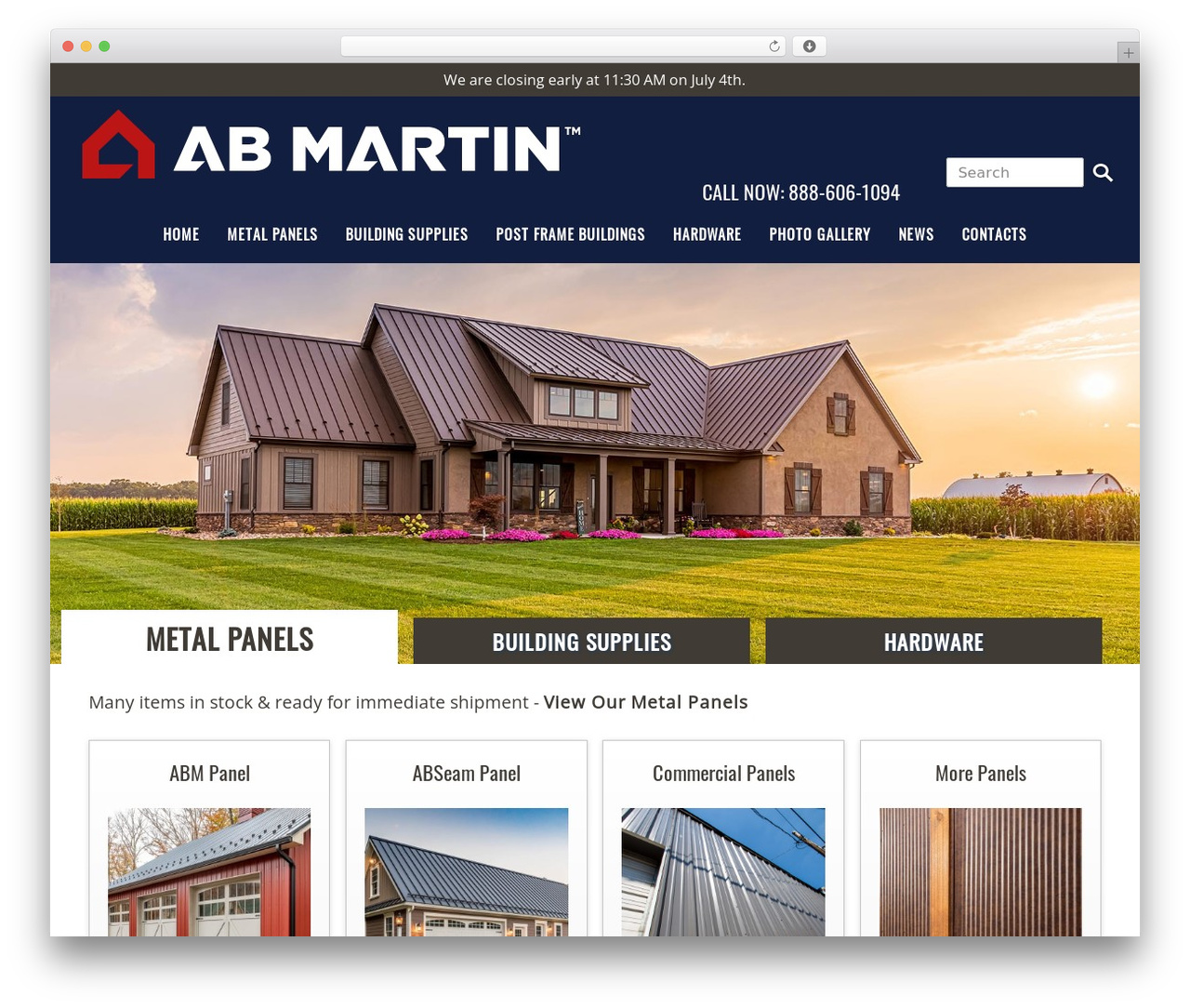 A. B. Martin WordPress theme - abmartin.net
