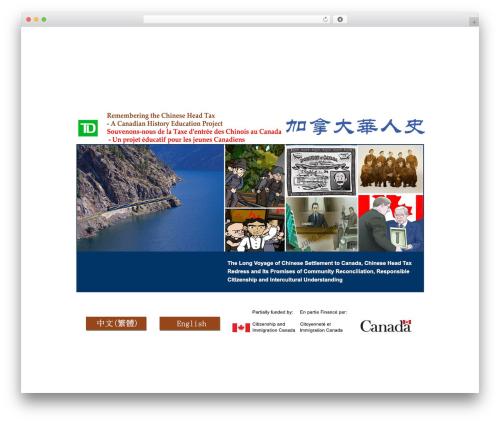 BlankSlate best free WordPress theme - access-cht.ca