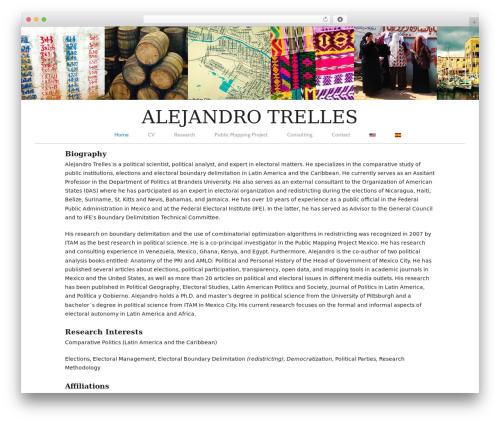 Branches WP theme - alejandrotrelles.com