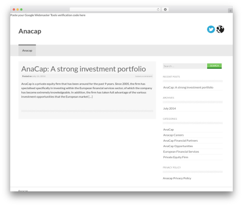 Coller WordPress free download - anacap.org.uk