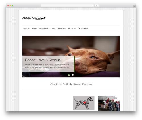 Free WordPress Recurring PayPal Donations plugin - adoreabull.org