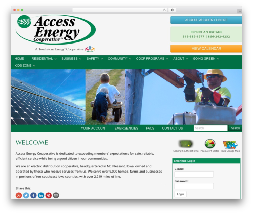Gantry Theme for WordPress premium WordPress theme - accessenergycoop.com