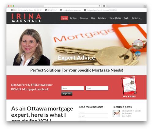 PressCore WP theme - accessible-mortgages.com