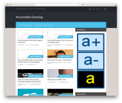Reviewgine Affiliate WordPress template free download - accessiblegaming.info