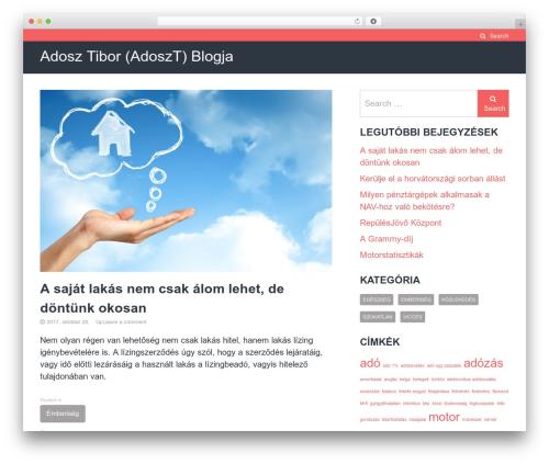 The Authority free WordPress theme - adoszt.hu