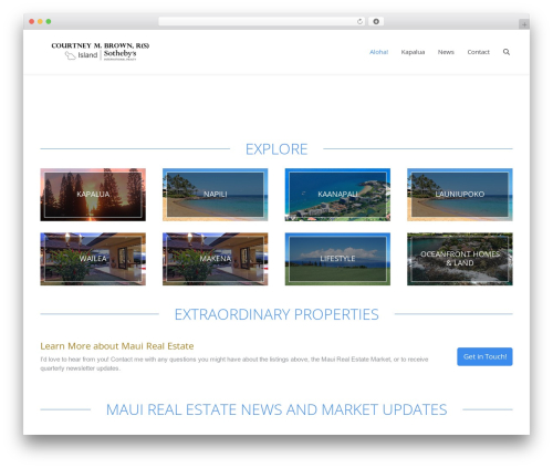 The7 real estate WordPress theme - amauilife.com