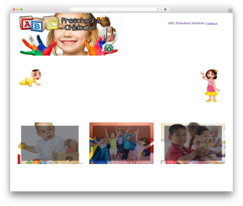 The7 WordPress website template - abc-preschools.com