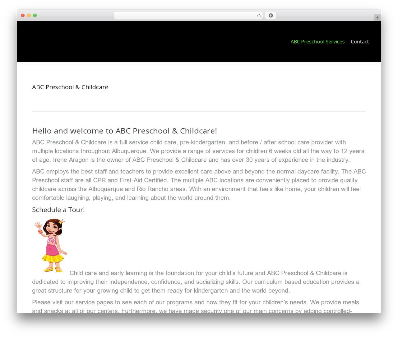 The7 WordPress website template - abc-preschools.com
