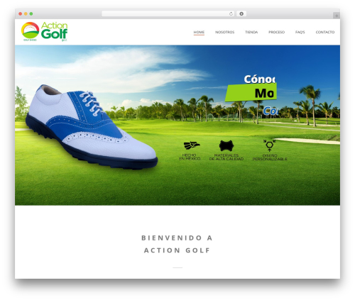 Theme WordPress Jupiter - aftergolf.mx