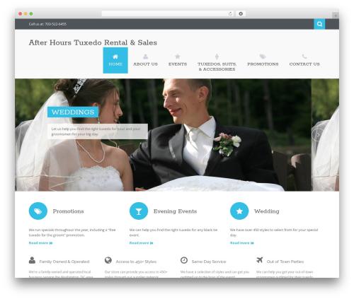 Theme WordPress Nictitate - afterhoursformals.net/site