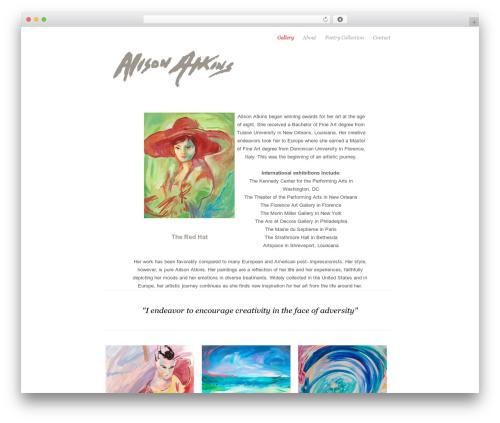 Theme WordPress Photojax - alisonatkinsart.com