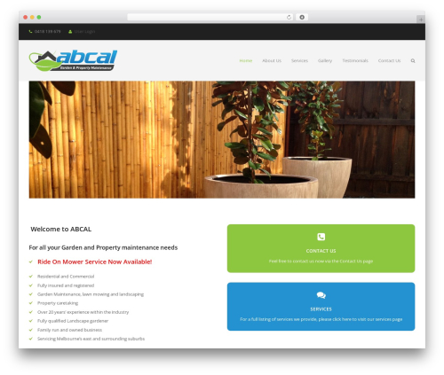 Total free WP theme - abcal.com.au