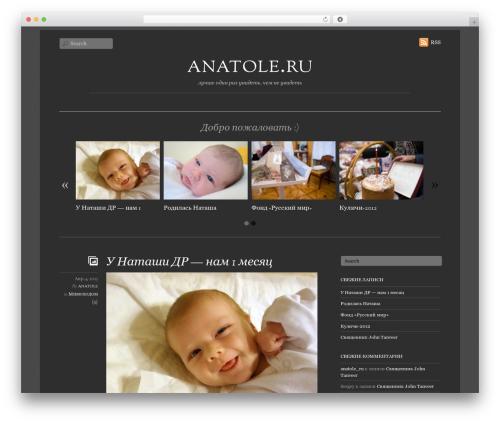 WordPress theme Elemin - anatole.ru