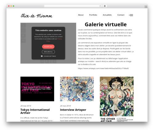 WordPress theme Ottar - aliceheaven.com