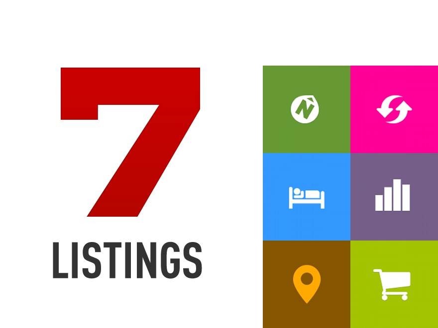 7 Listings top WordPress theme