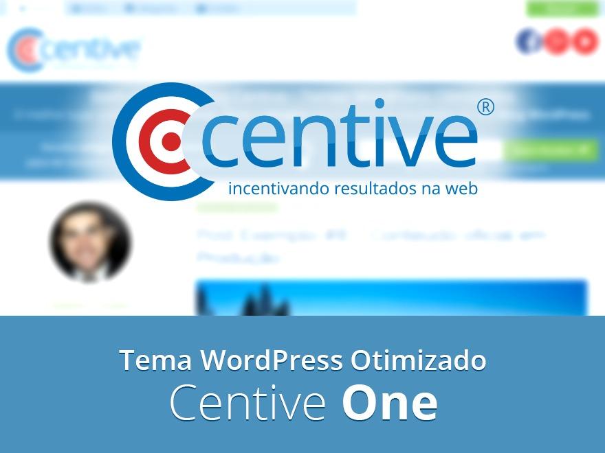 Best WordPress template Centive One