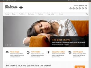 Best WordPress theme Modernize
