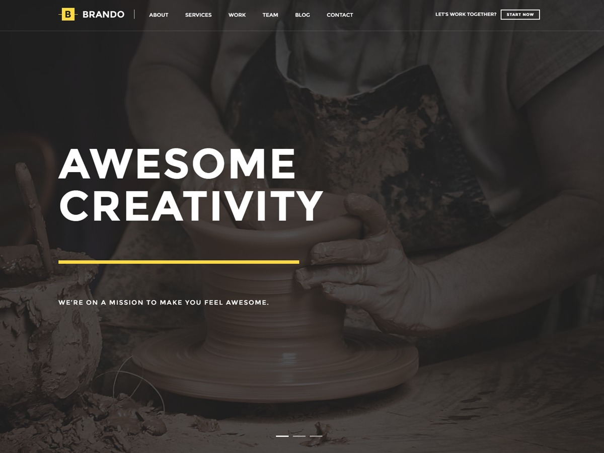 Brando Child premium WordPress theme