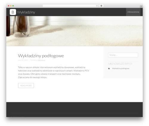 Business Leader WordPress free download - wykladziny.com