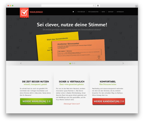 CloudHost Child WordPress theme - wahlbingo.de